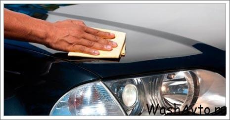 Как мыть машину правильно.