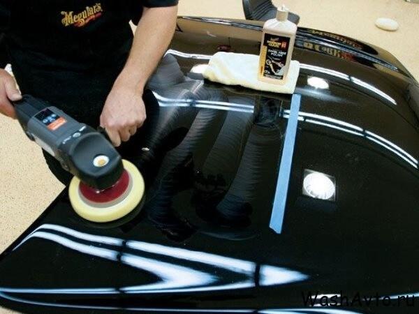 Нано полировка автомобиля