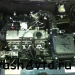 мойка двигателя 2110