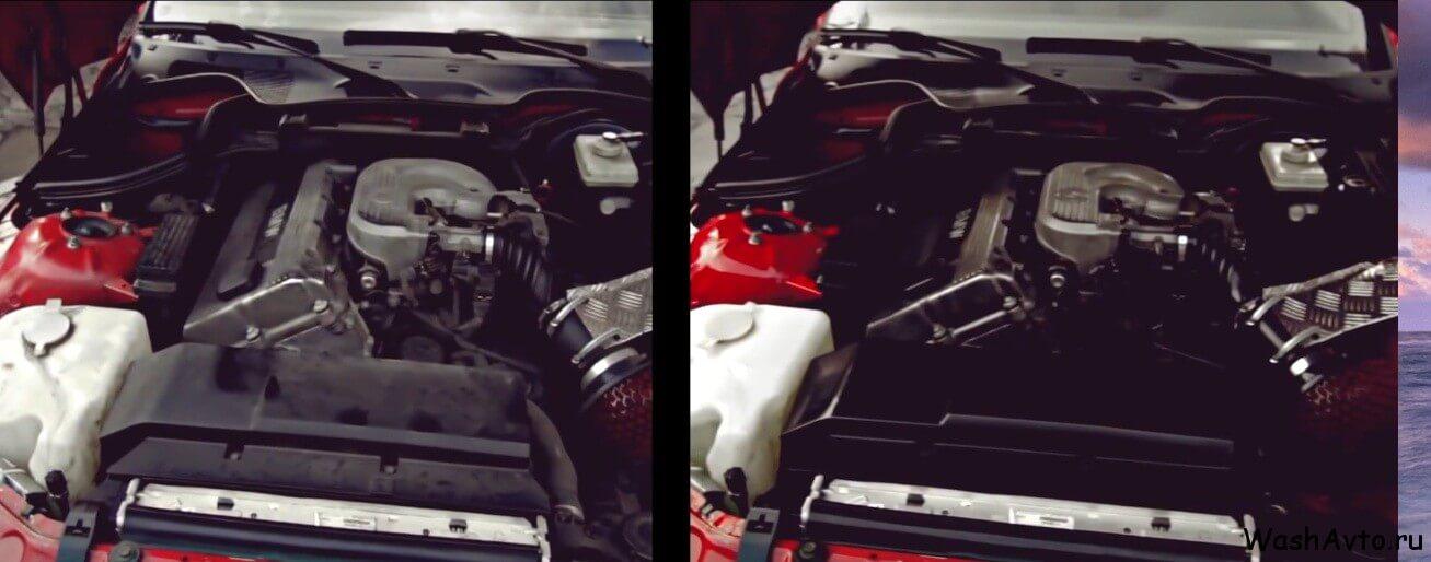 как помыть двигатель автомобиля123
